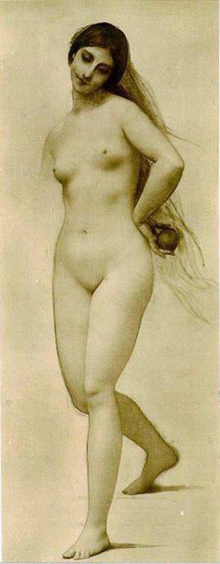Eve | Jules Joseph Lefebvre | oil painting