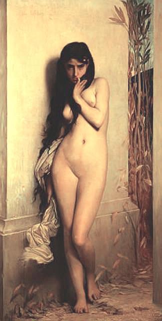 La Cigale | Jules Joseph Lefebvre | oil painting