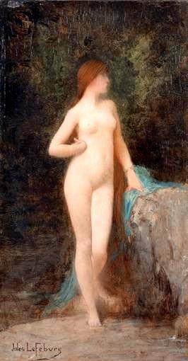 Chloe | Jules Joseph Lefebvre | oil painting