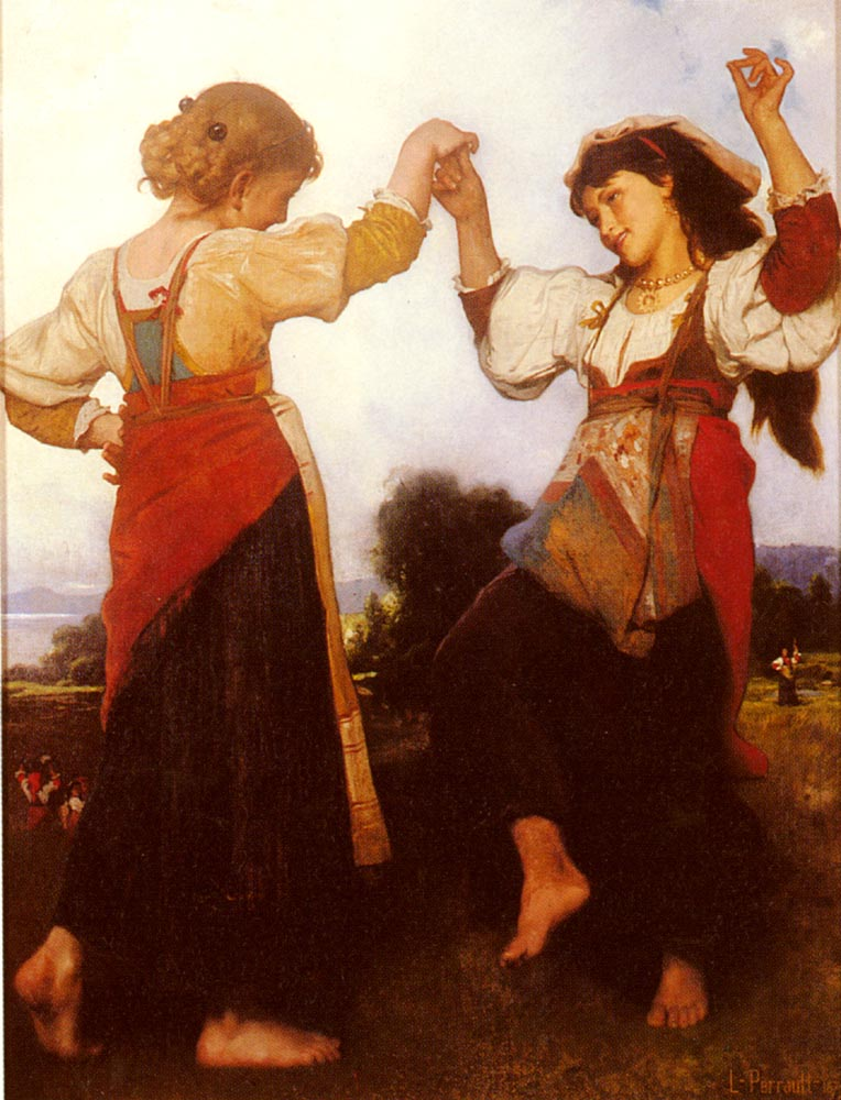 La Tarantella 1879 | Leon Bazile Perrault | oil painting