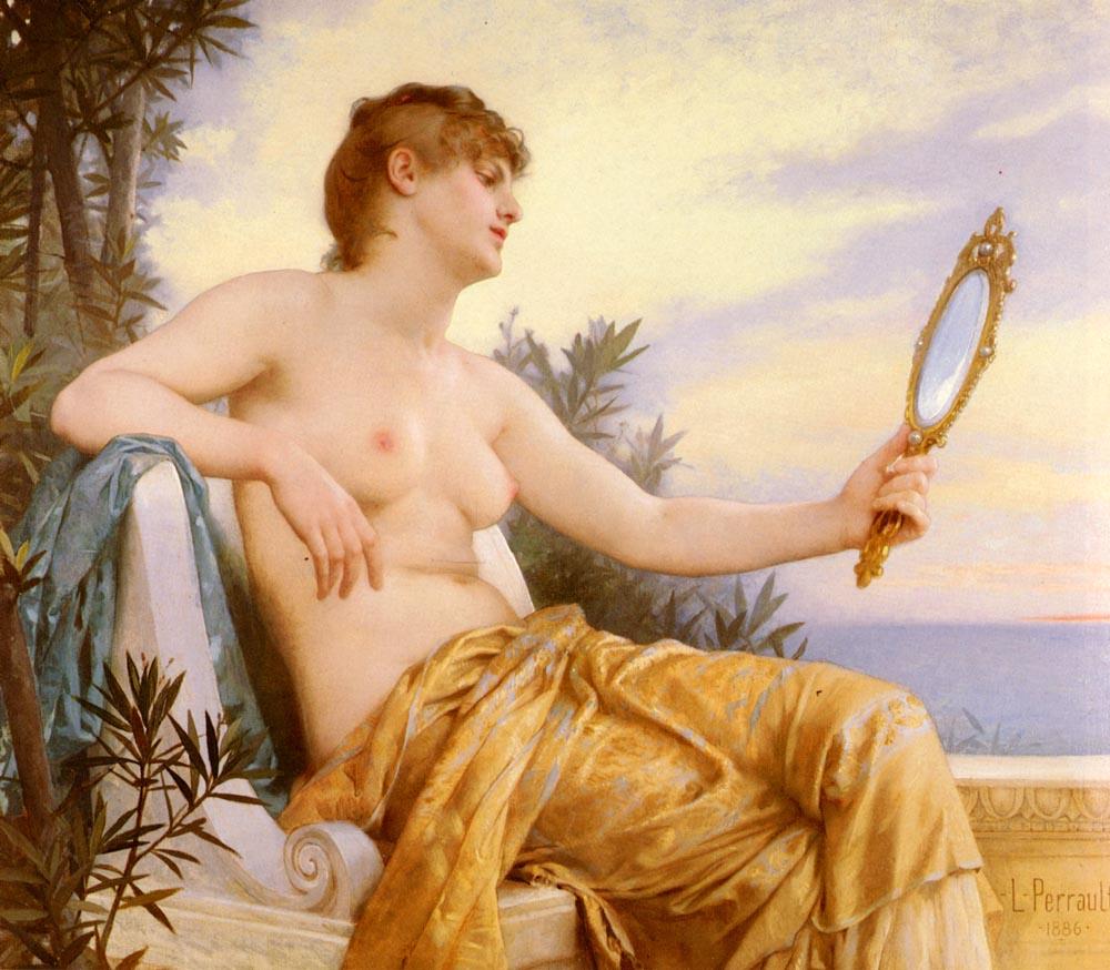 Vanitas 1886 | Leon Bazile Perrault | oil painting