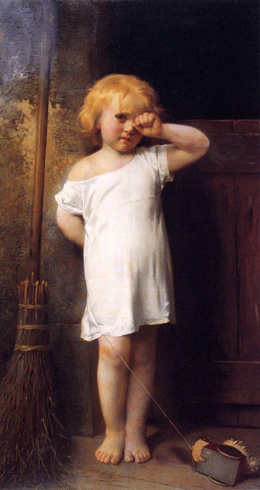 En Penitence 1876 | Leon Bazile Perrault | oil painting