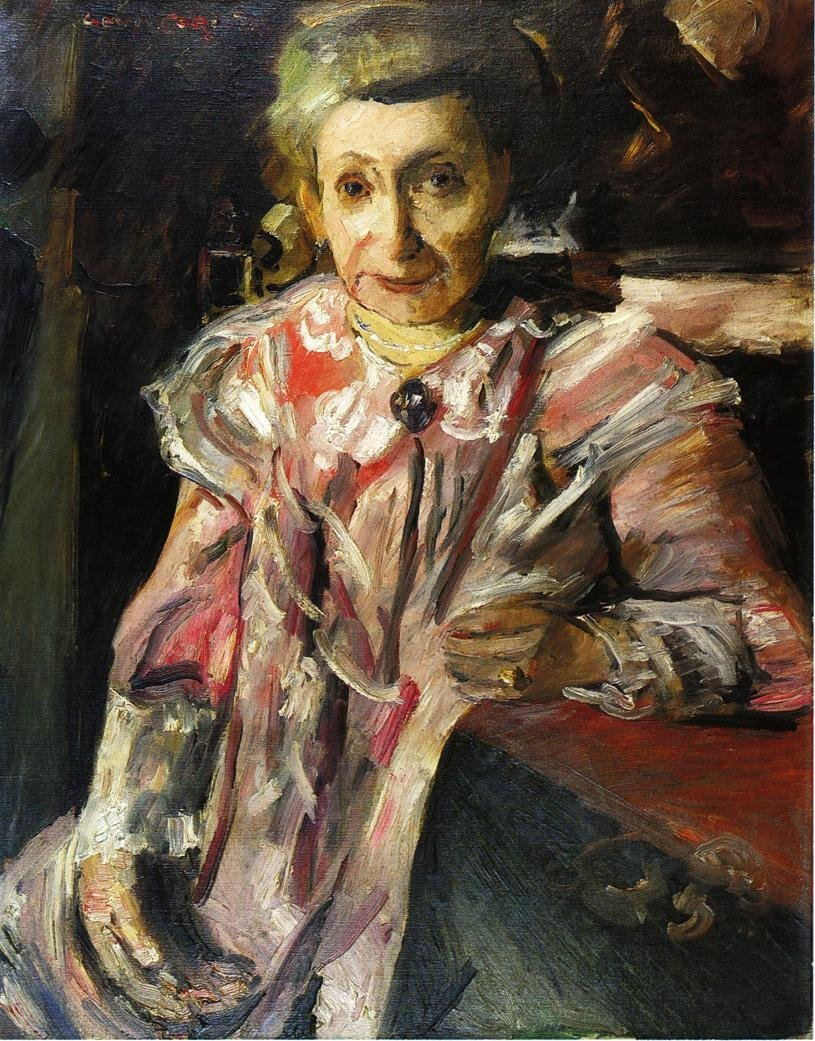 Portrait of Frau Hedwig Berend | Lovis Corinth | oil painting