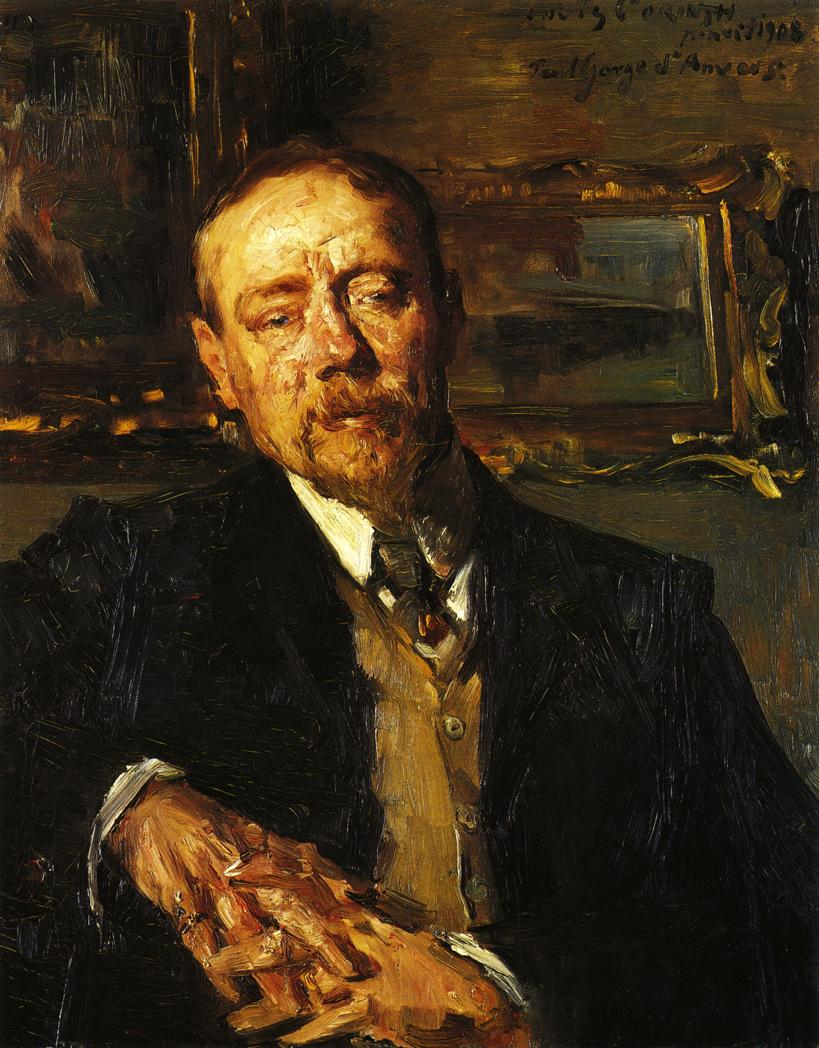 Portrait of the Painter Paul Eugene Gorge | Lovis Corinth | oil painting