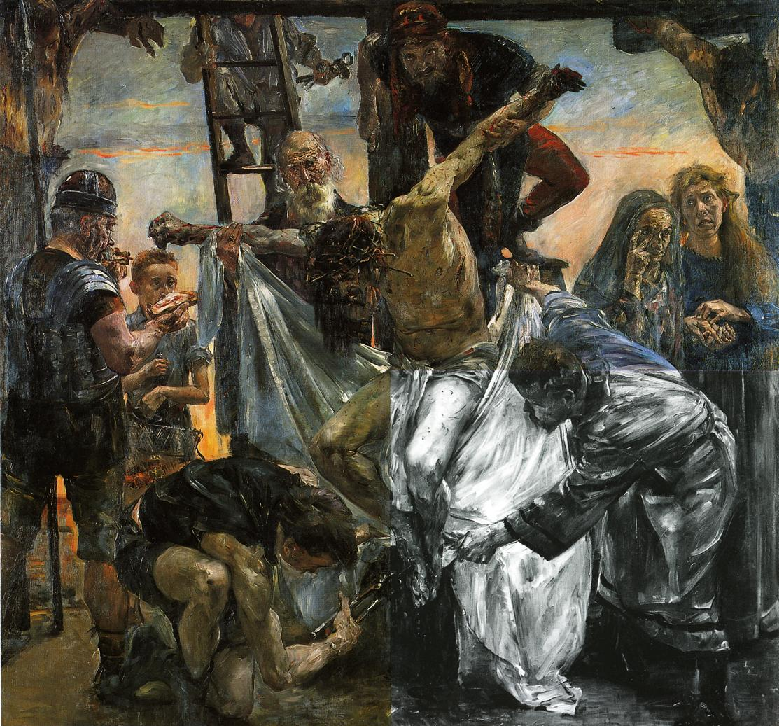 The Deposition | Lovis Corinth | oil painting