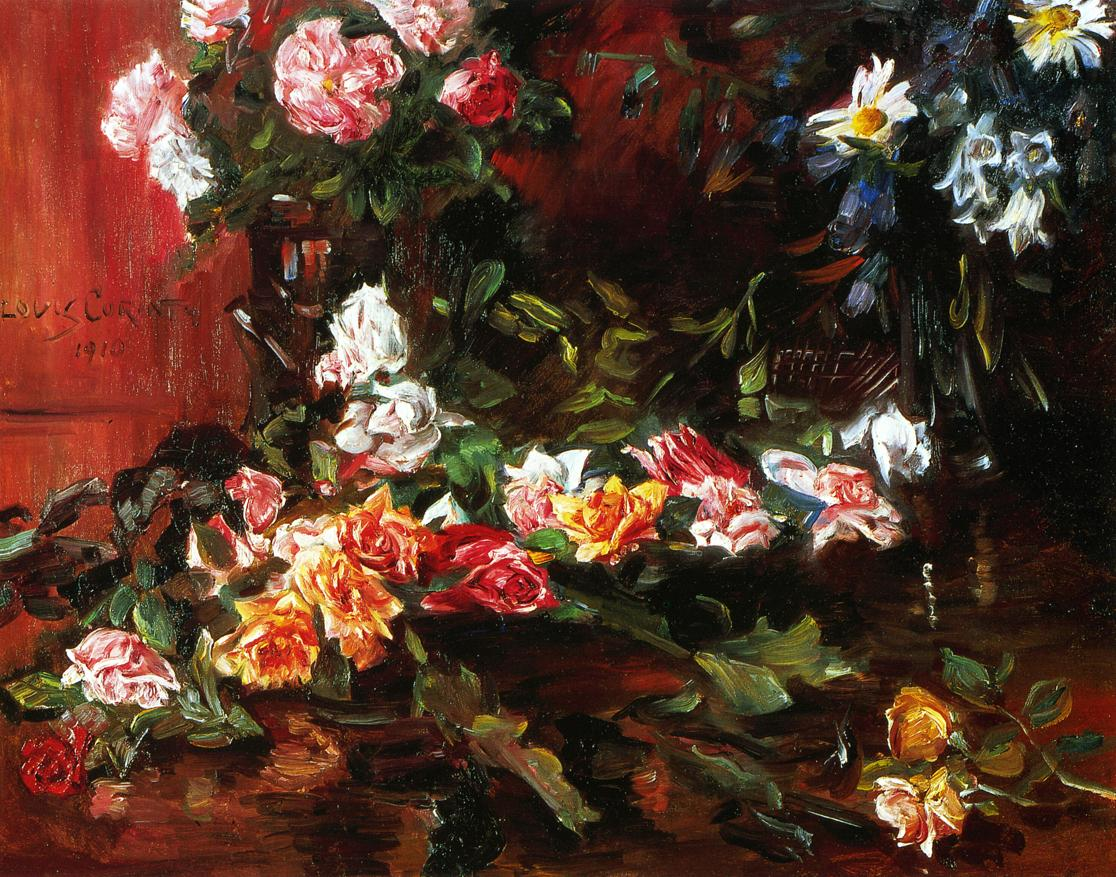 Roses | Lovis Corinth | oil painting