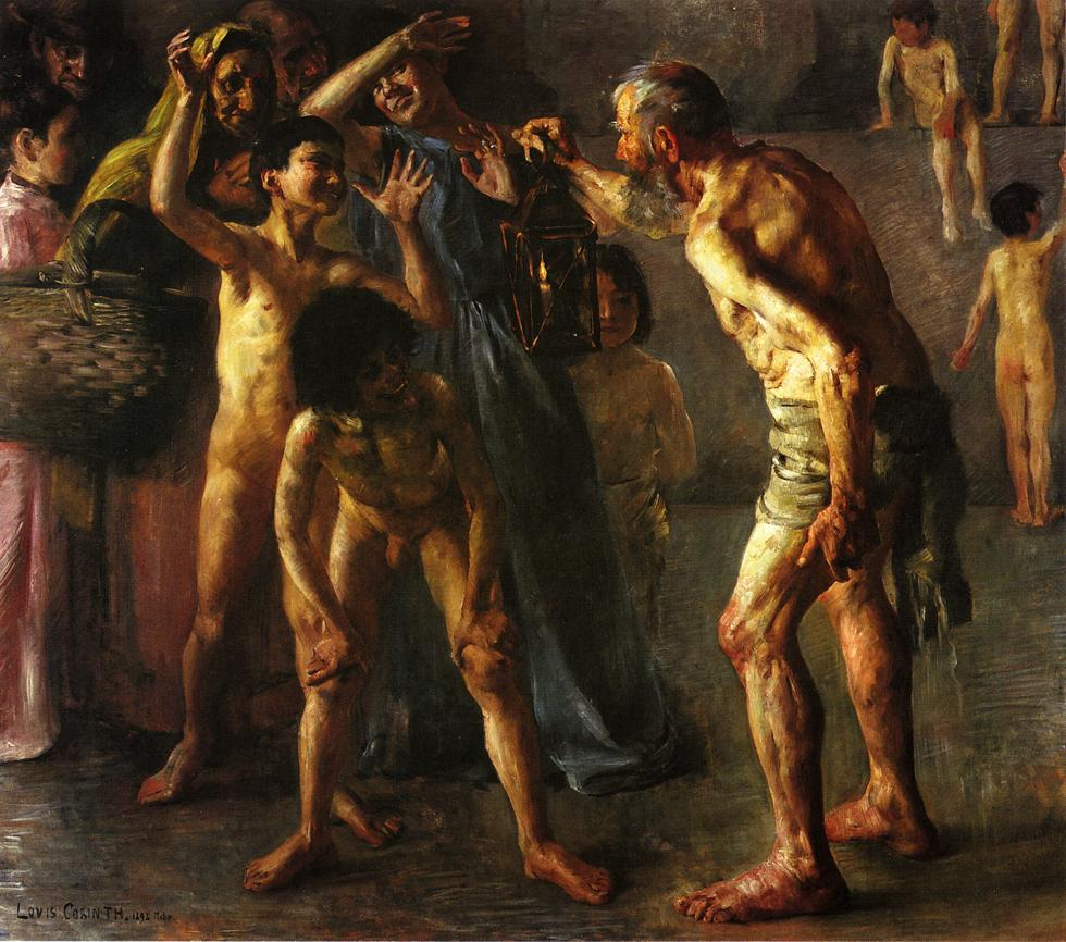 Diogenes | Lovis Corinth | oil painting