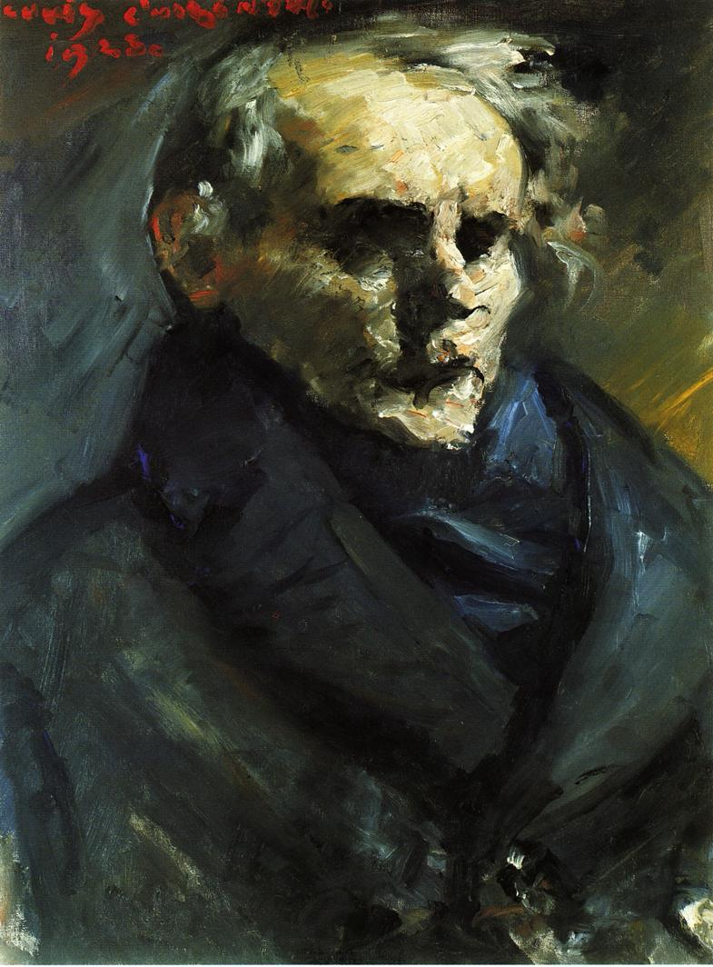 Portrait of the Painter Bernt Gronvold | Lovis Corinth | oil painting
