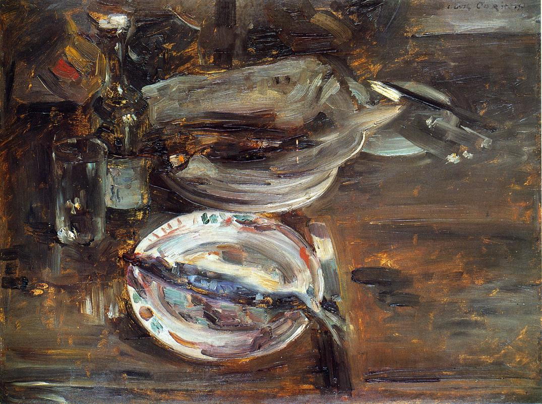 Cats Breakfast | Lovis Corinth | oil painting