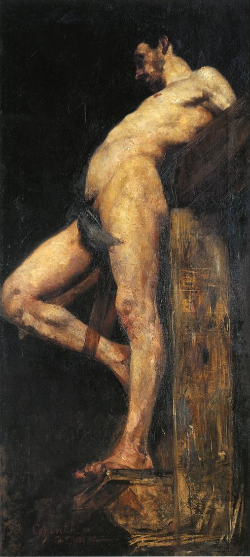 Crucified Thief | Lovis Corinth | oil painting