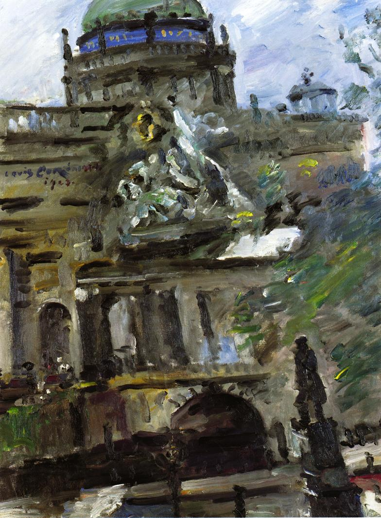 Schlossfreiheit Berlin | Lovis Corinth | oil painting