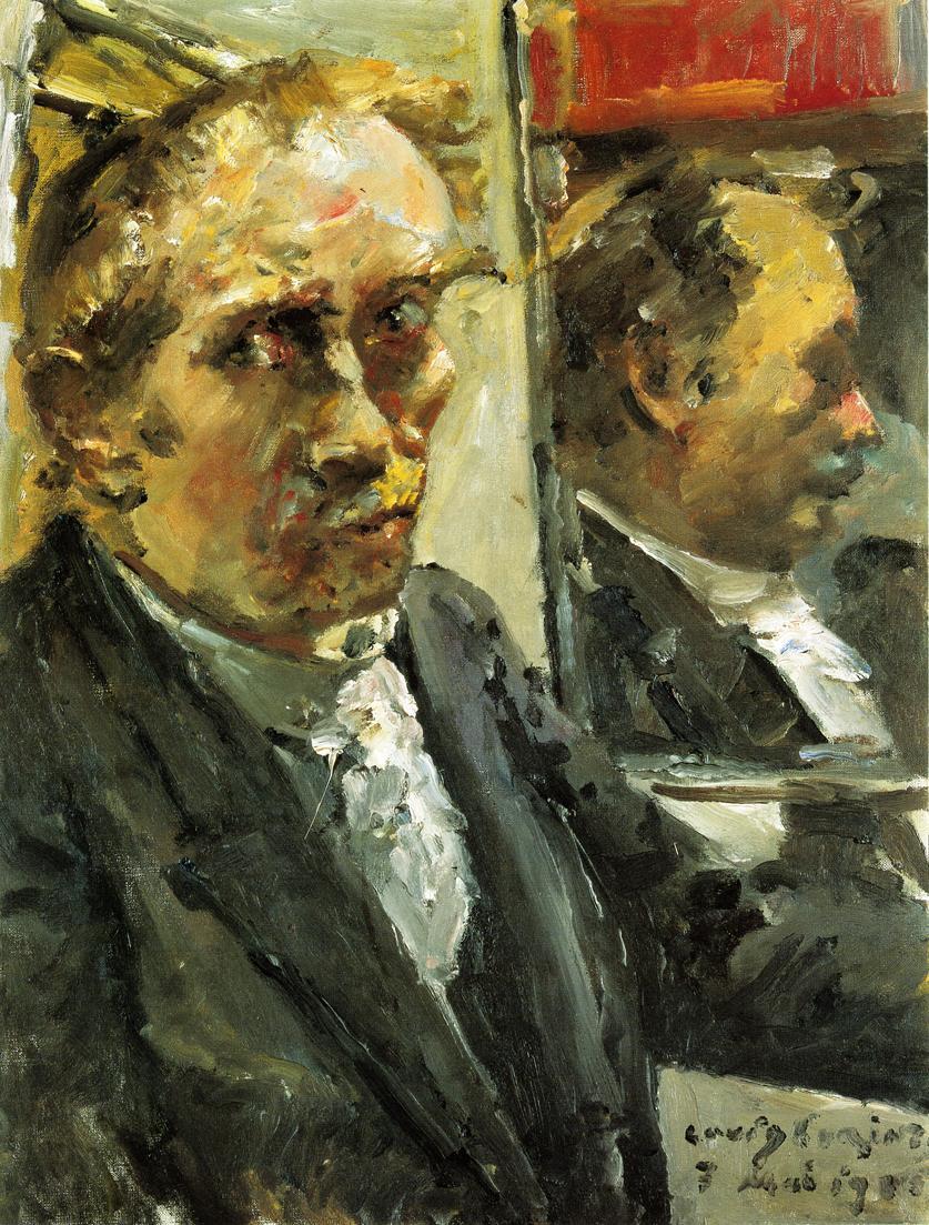 Last Self Portrait | Lovis Corinth | oil painting