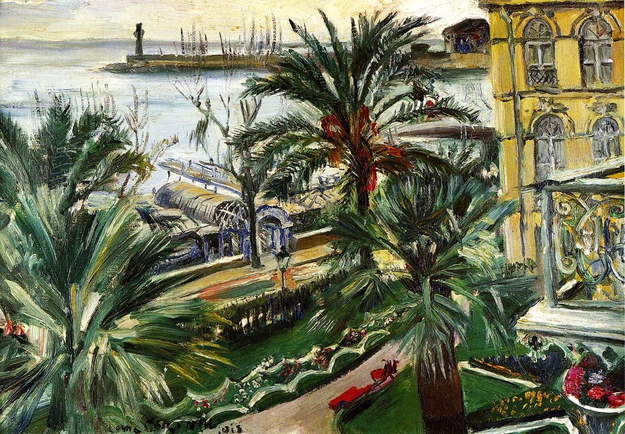 Menton | Lovis Corinth | oil painting