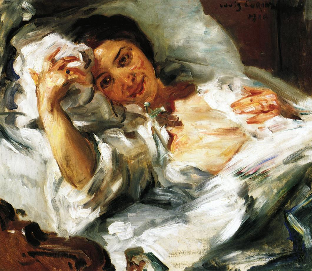 Morning Sun | Lovis Corinth | oil painting