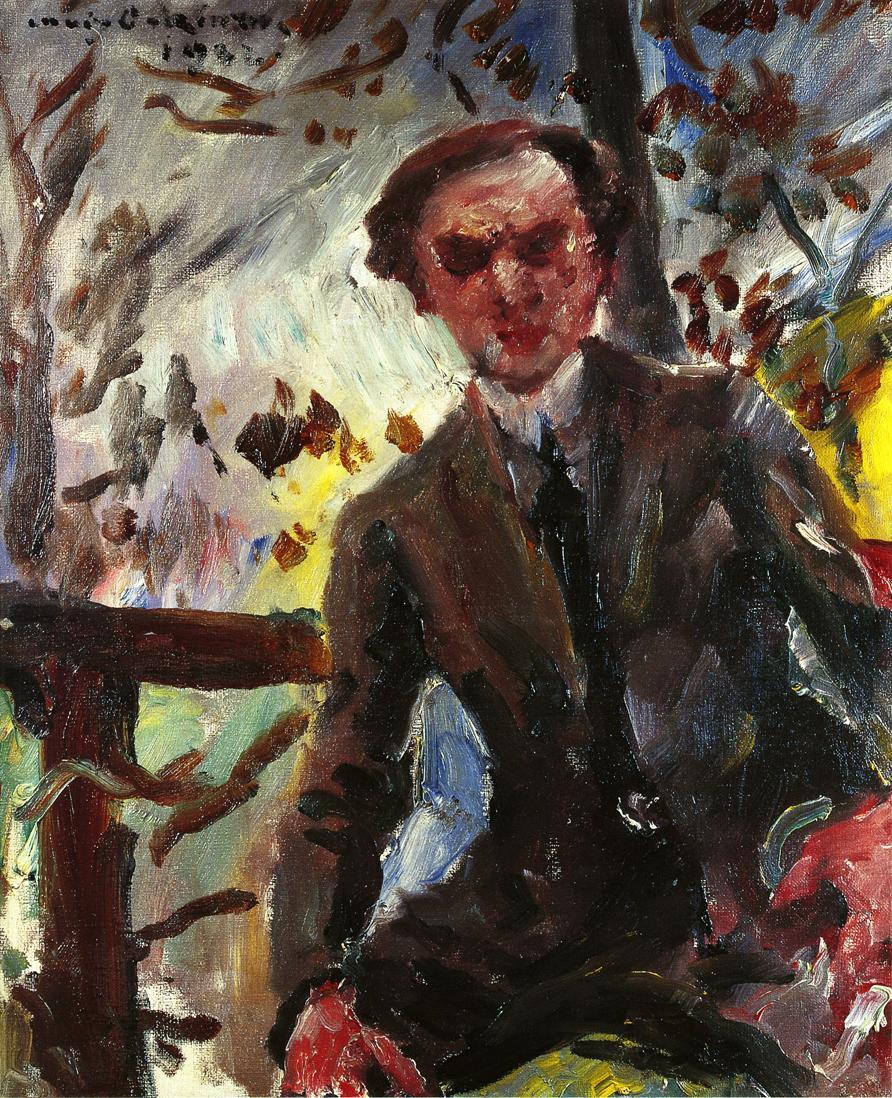Portrait of the Painter Leo Michelson | Lovis Corinth | oil painting