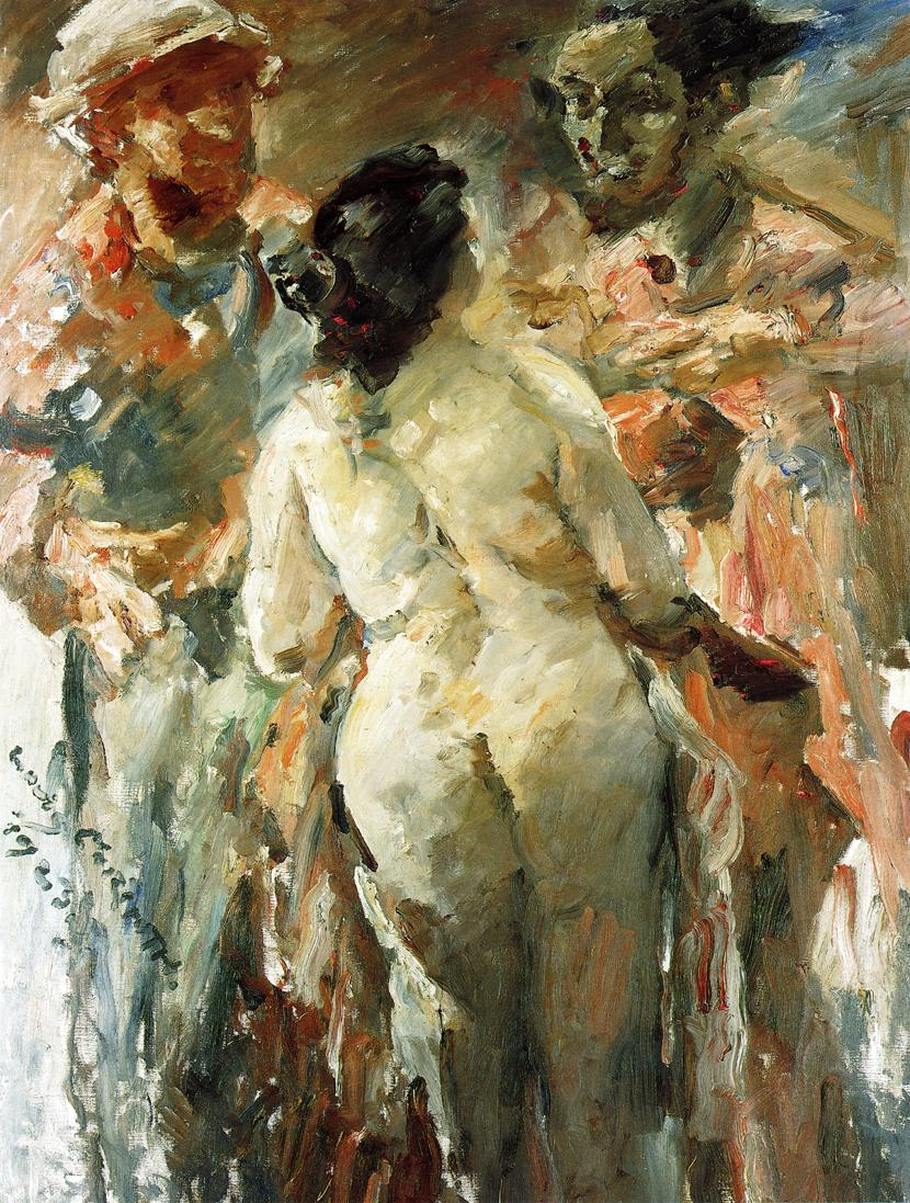 Susanna and the Elders | Lovis Corinth | oil painting