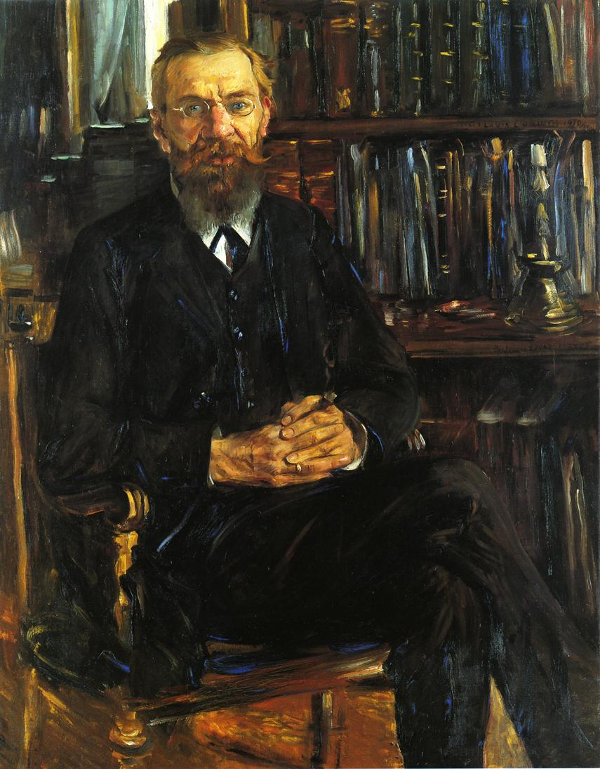 Portrait of Professor Eduard Meyer | Lovis Corinth | oil painting
