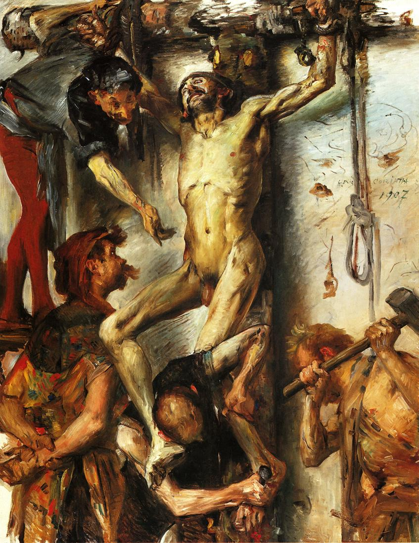 The Large Martyrdom | Lovis Corinth | oil painting