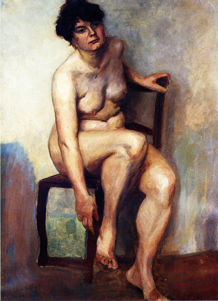 Female Nude | Lovis Corinth | oil painting