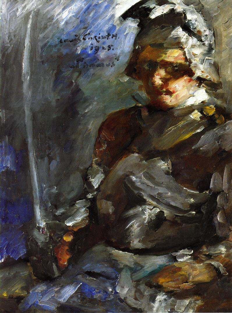 Thomas in Armour | Lovis Corinth | oil painting