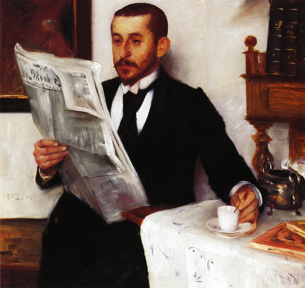 Portrait of the Painter Benno Becker   Lovis Corinth   oil painting
