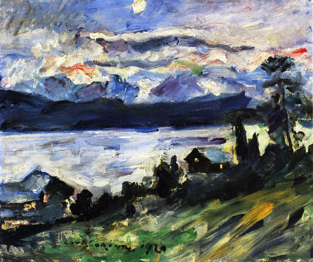 The Walchensee on Saint Johns Eve | Lovis Corinth | oil painting