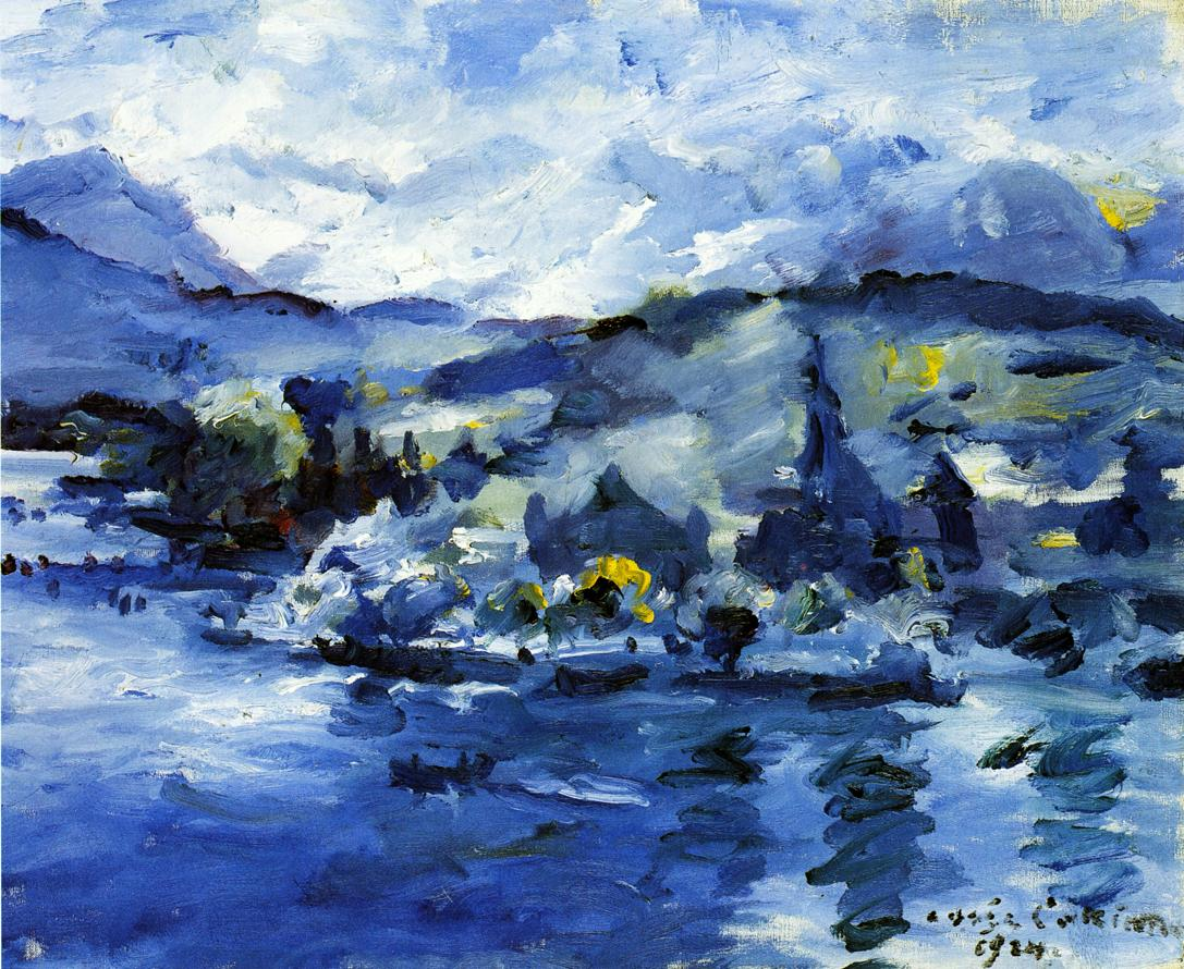 Lake Lucerne Afternoon | Lovis Corinth | oil painting