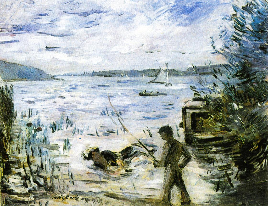 At the Muritzsee | Lovis Corinth | oil painting