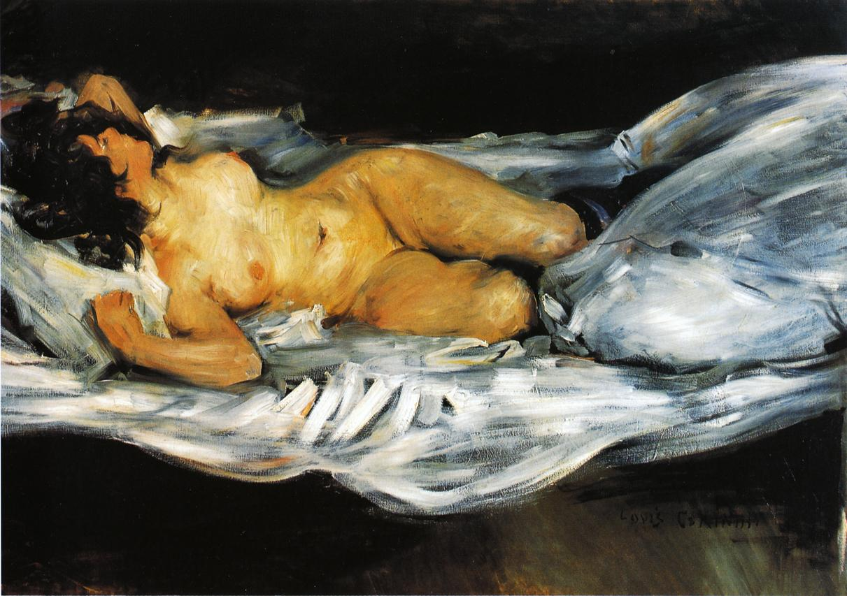 Reclining Nude | Lovis Corinth | oil painting