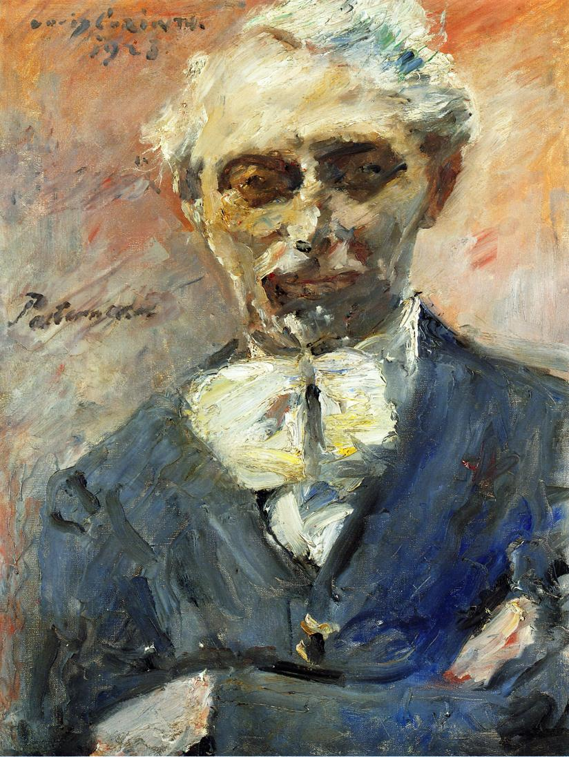 Portrait of the Painter Leonid Pasternak | Lovis Corinth | oil painting