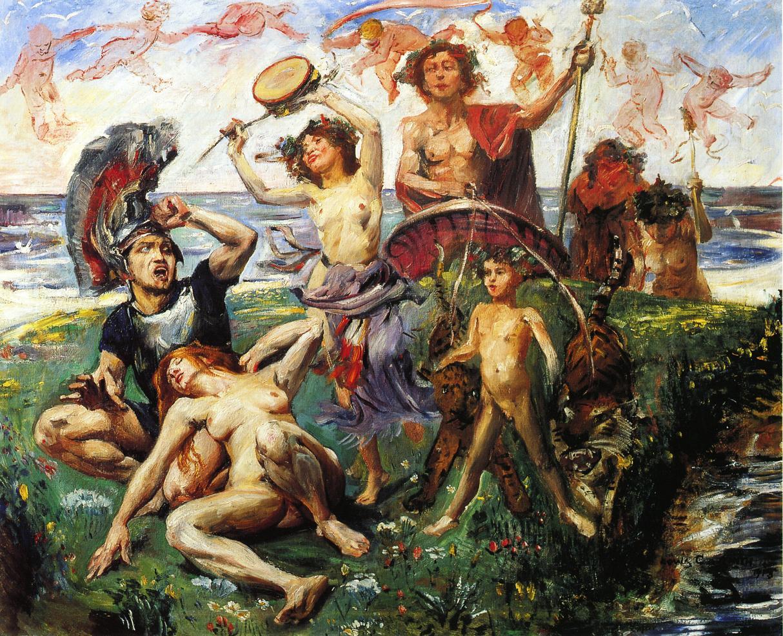 Ariadne auf Naxos | Lovis Corinth | oil painting