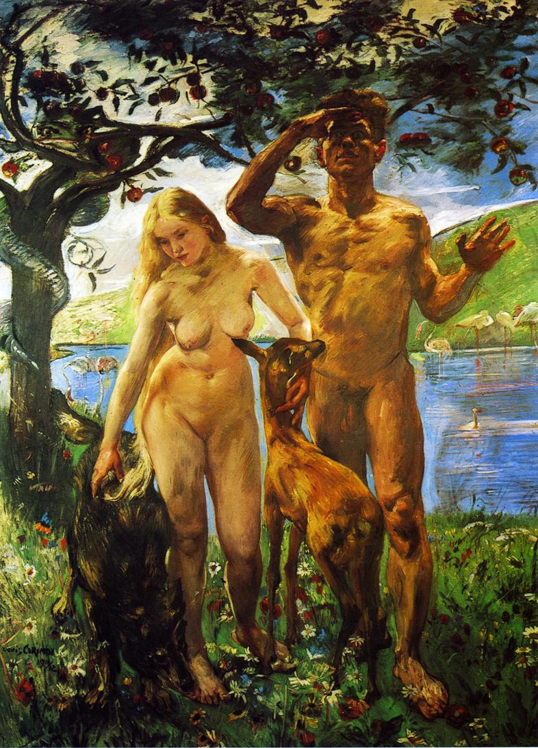 Paradise | Lovis Corinth | oil painting