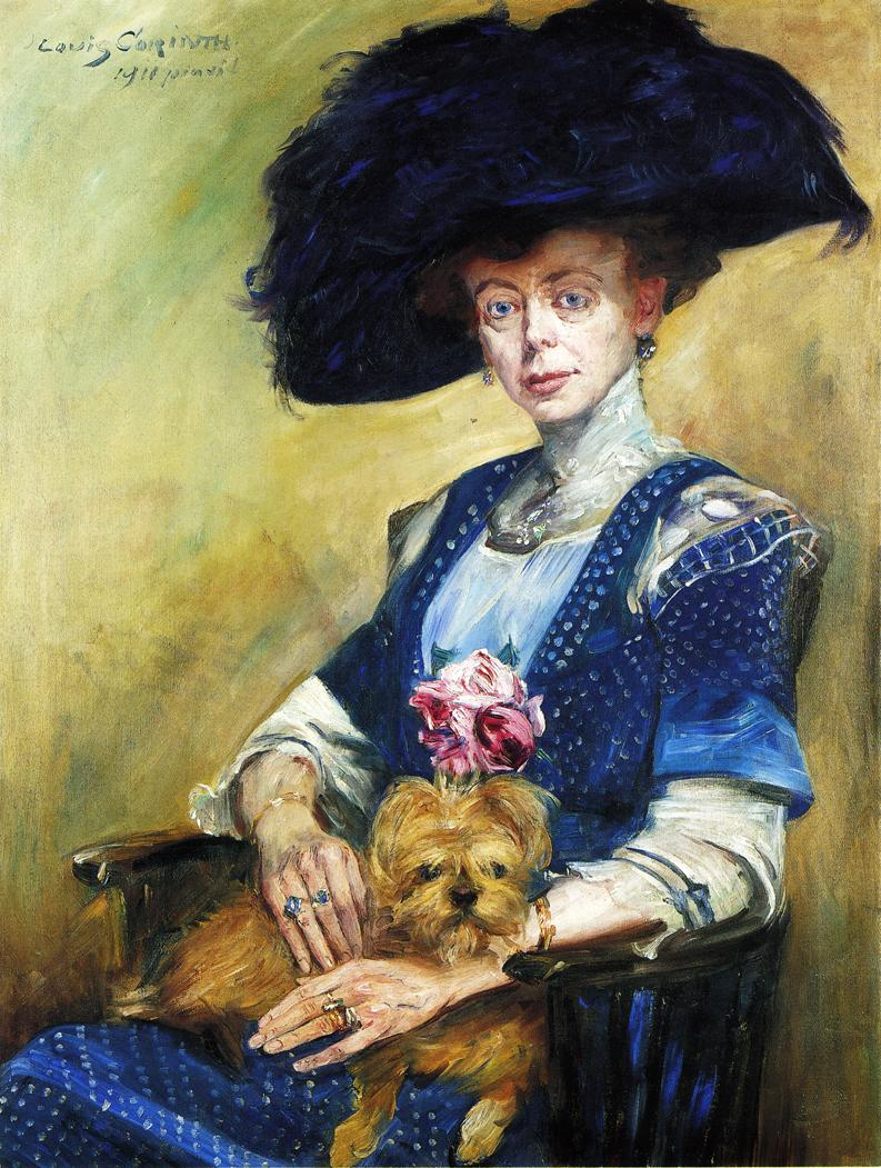 Portrait of Frau Luther | Lovis Corinth | oil painting
