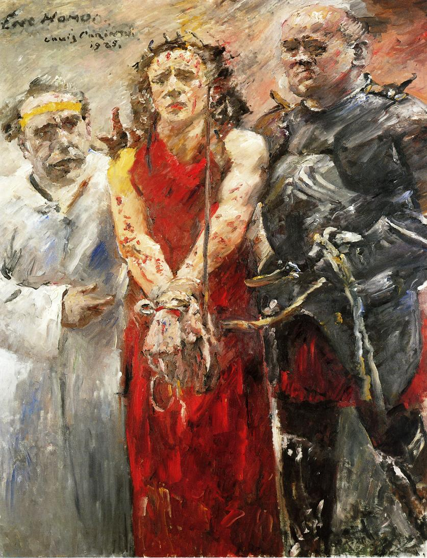Ecce Homo | Lovis Corinth | oil painting