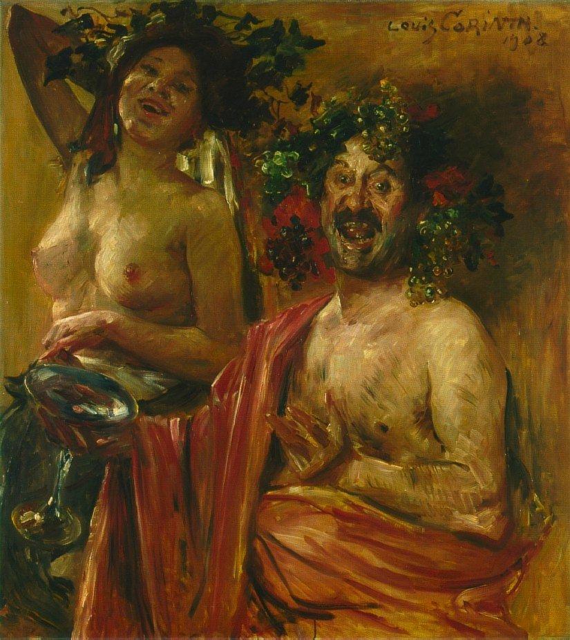 Bacchantenpaar | Lovis Corinth | oil painting