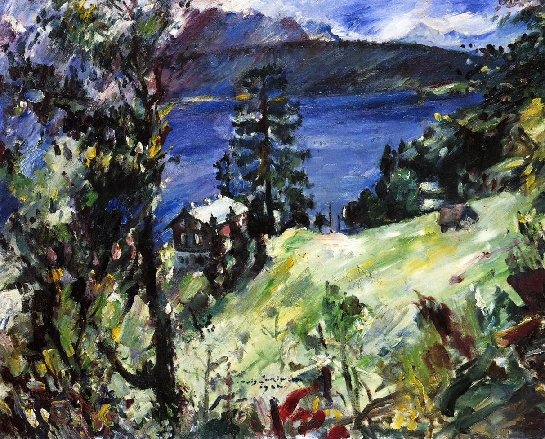 Walchensee Landscape | Lovis Corinth | oil painting