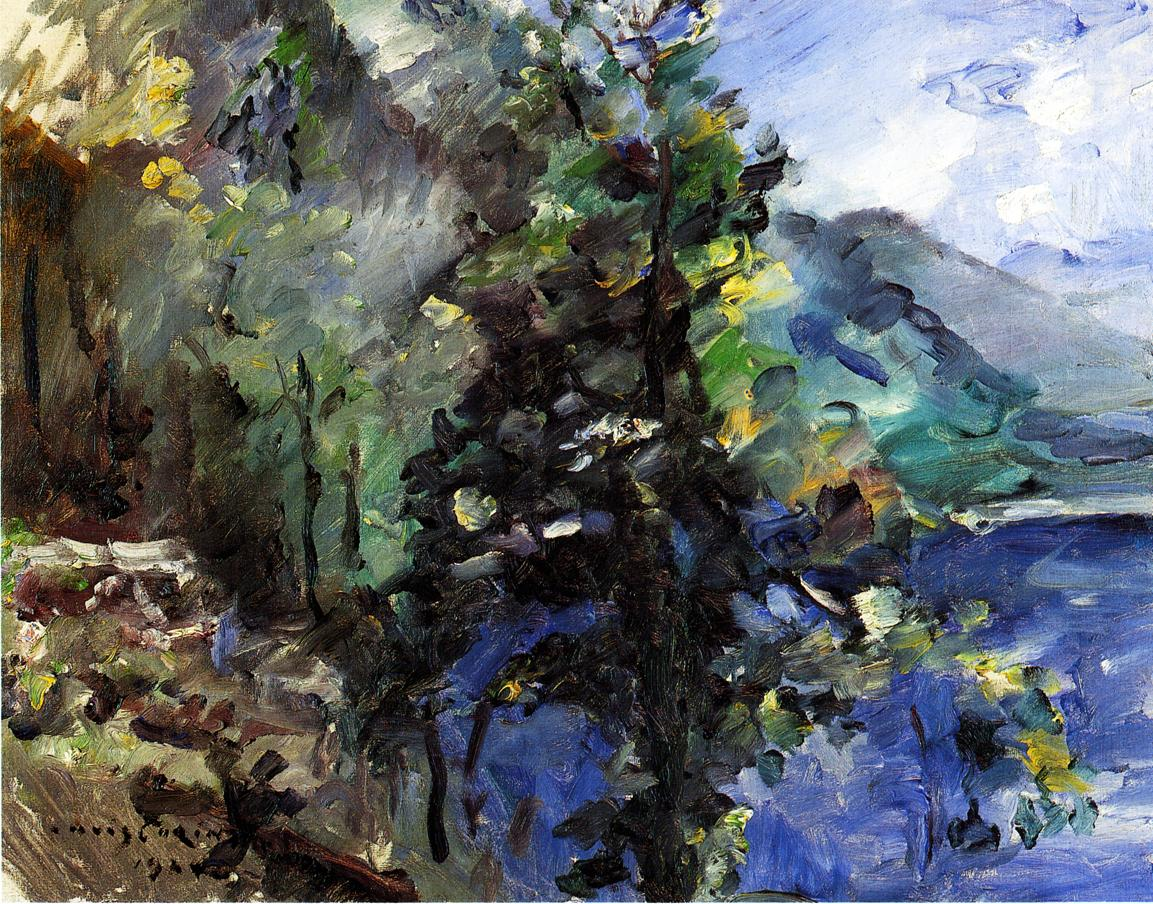 The Walchensee with the Slope of the Jochberg | Lovis Corinth | oil painting