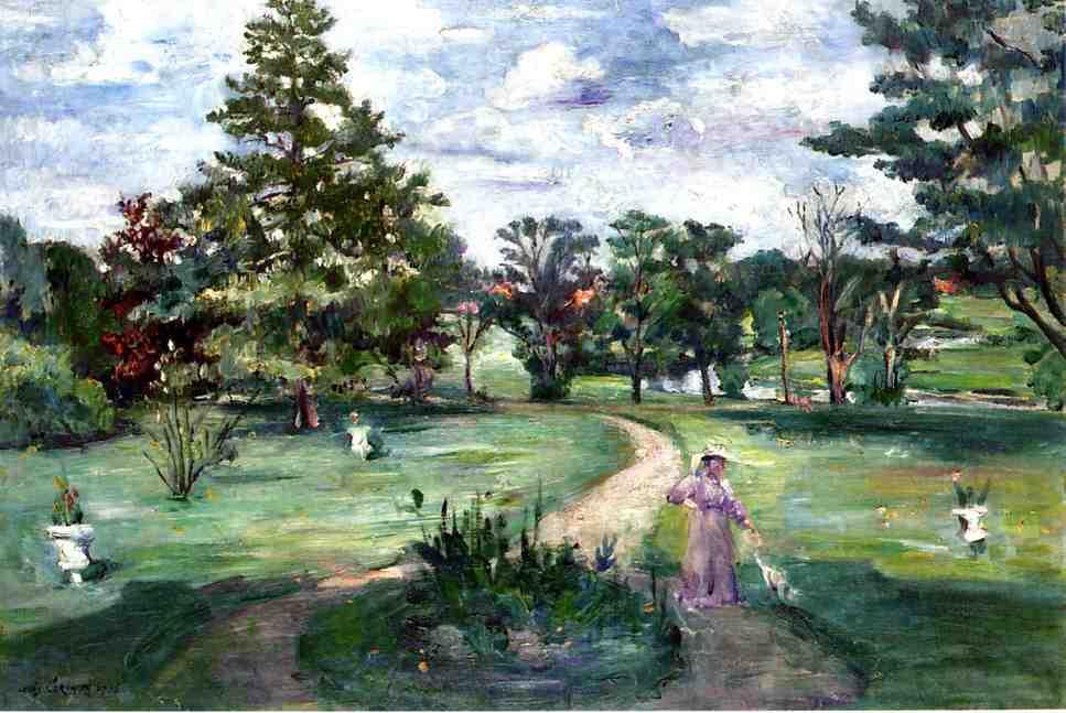 Schlosspark | Lovis Corinth | oil painting