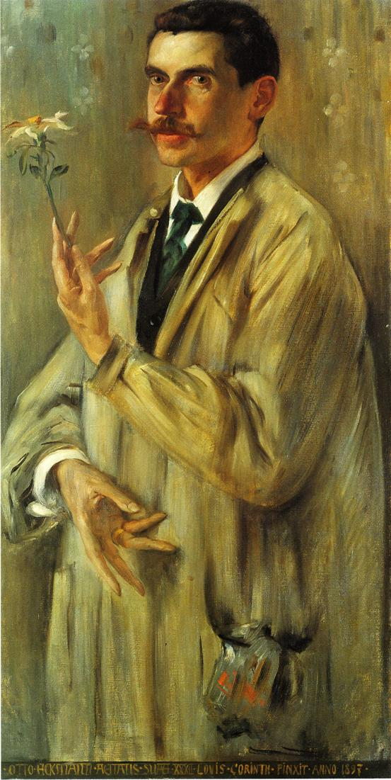 Portrait of the Painter Otto Eckmann | Lovis Corinth | oil painting