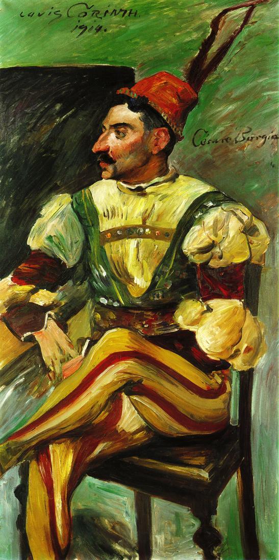 Cesare Borgia | Lovis Corinth | oil painting
