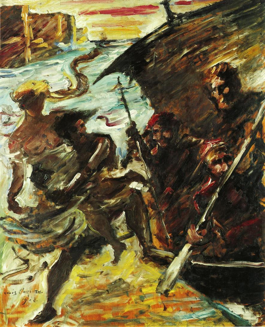 The Abduction | Lovis Corinth | oil painting