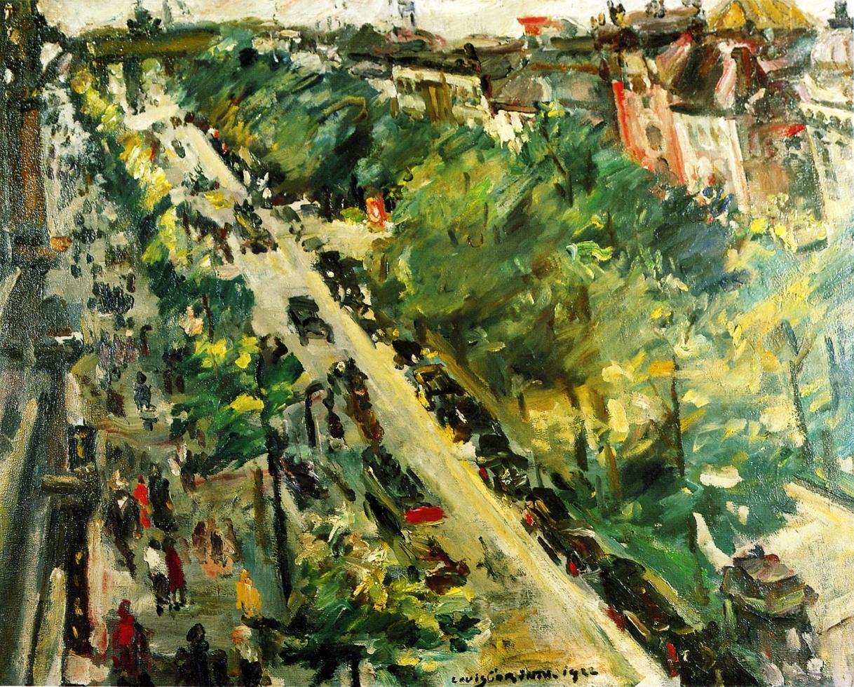 Unter den Linden Berlin | Lovis Corinth | oil painting
