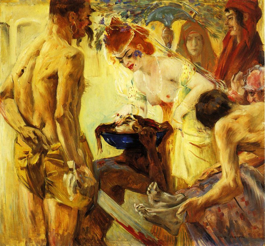 Salome First Version | Lovis Corinth | oil painting
