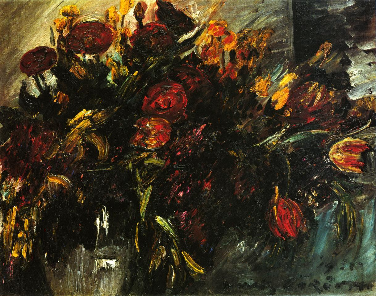 Red and Yellow Tulips | Lovis Corinth | oil painting