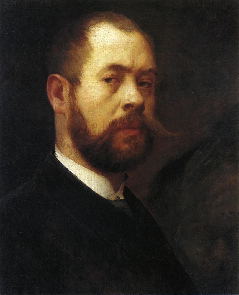 Self Portrait | Lovis Corinth | oil painting