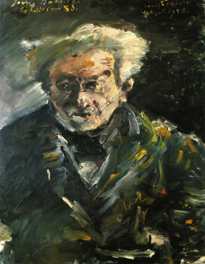 Portrait of Georg Brandes | Lovis Corinth | oil painting