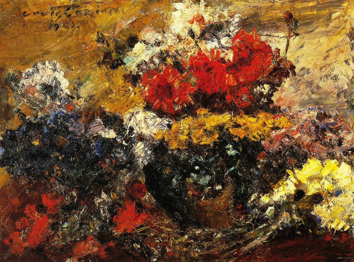 Autumn Flowers | Lovis Corinth | oil painting