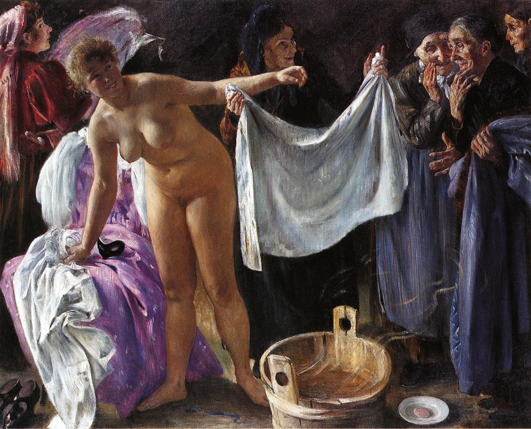 Witches | Lovis Corinth | oil painting