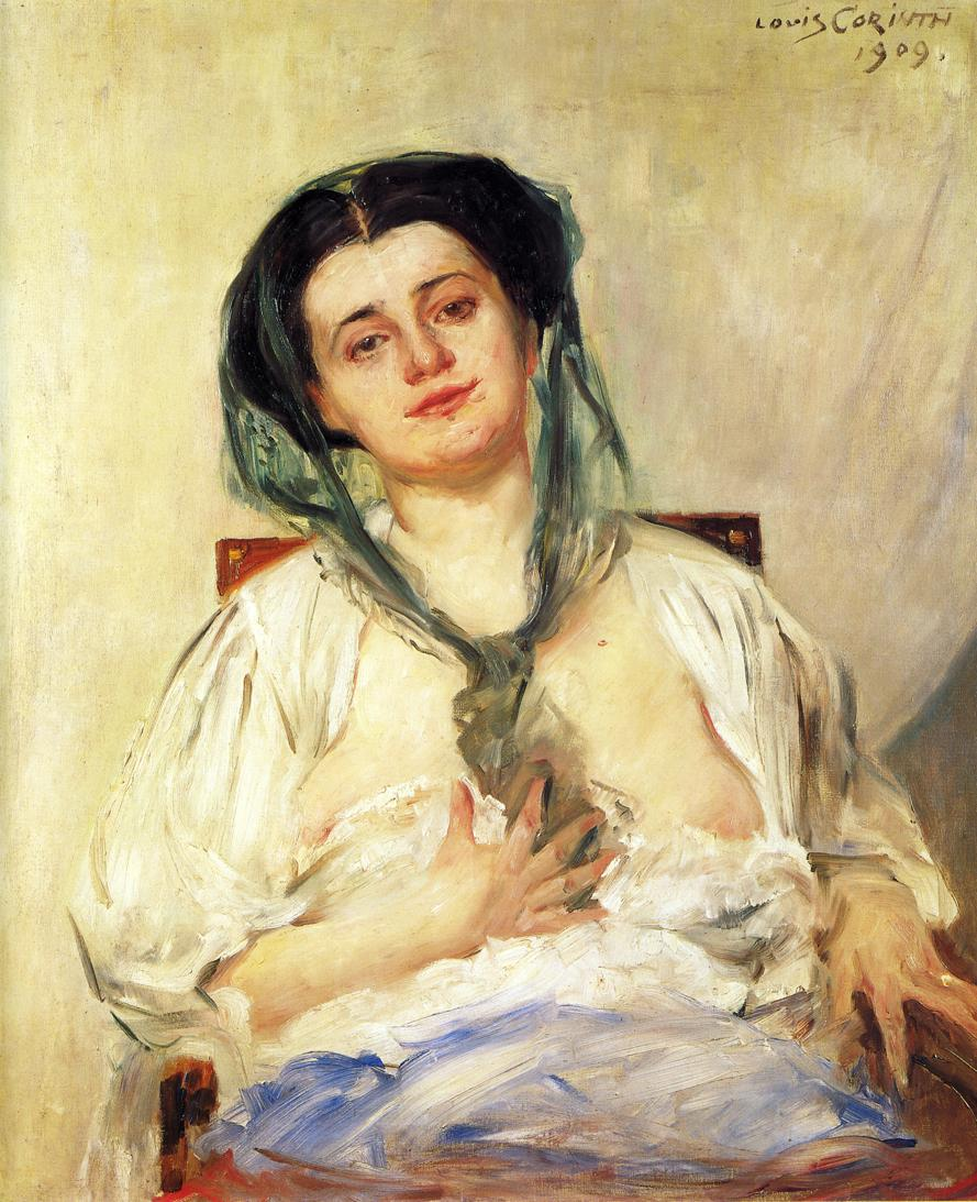 Donna Gravida | Lovis Corinth | oil painting