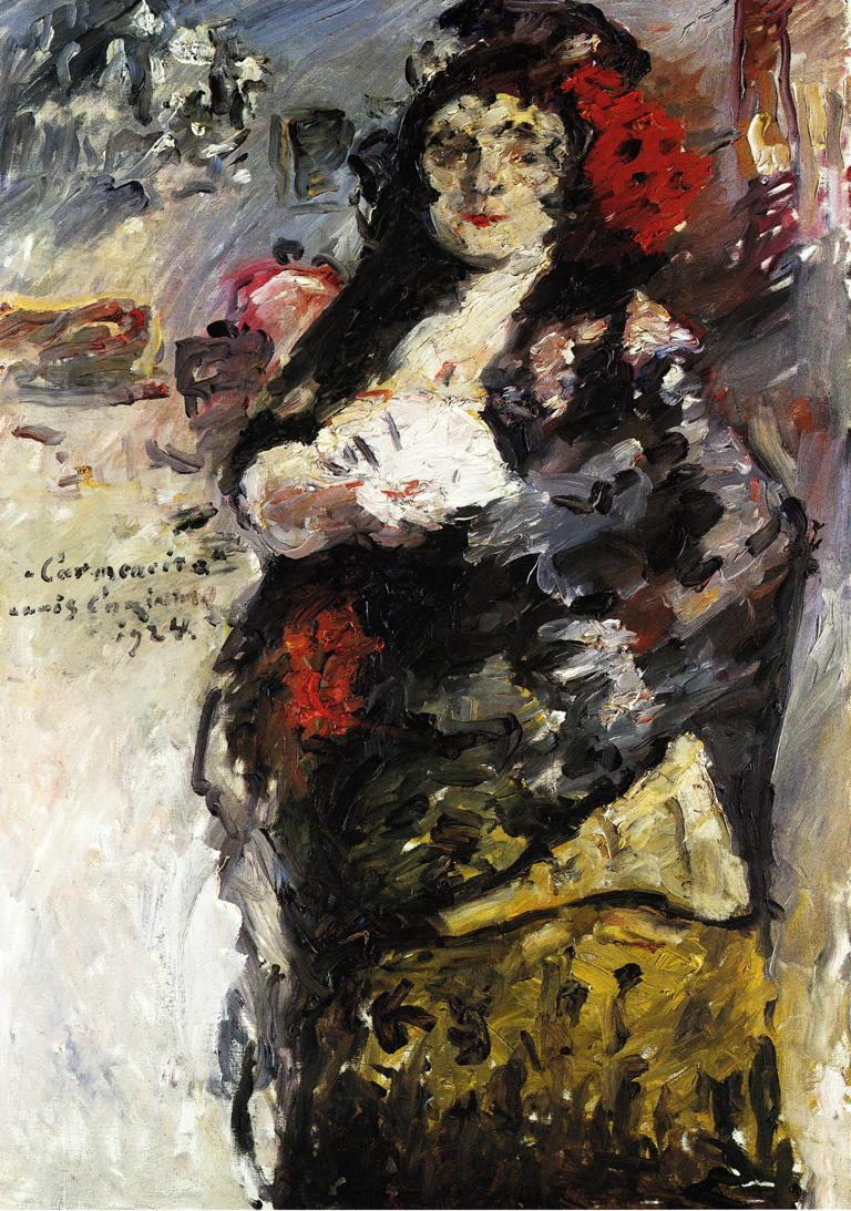 Carmencita | Lovis Corinth | oil painting